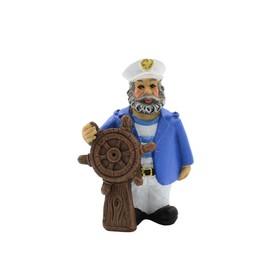 Декорация пластиковая PRIME «Моряк Рулевой Вудман» 4.5х3х6.5 см