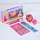 Канцелярский набор, Принцессы Дисней, 6 предметов - фото 989633