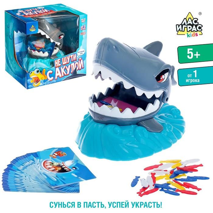 Настольная игра на ловкость «Не шути с акулой»