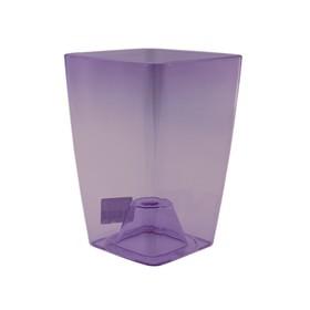 Горшок для орхидей «Сильвия», цвет фиолетовый,