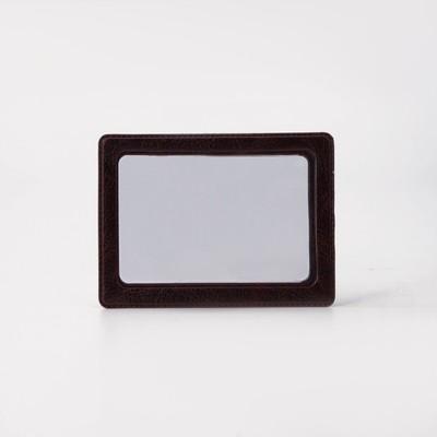 A map case, 1 number, color Burgundy
