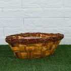 Кашпо, 28×14.5/17×9/9,5 см, водный гиацинт