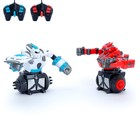 """Роботы радиоуправляемые """"Битва роботов"""", световые и звуковые эффекты"""