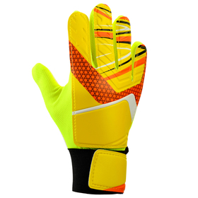 Перчатки вратарские, размер 7, цвет жёлтый Ош