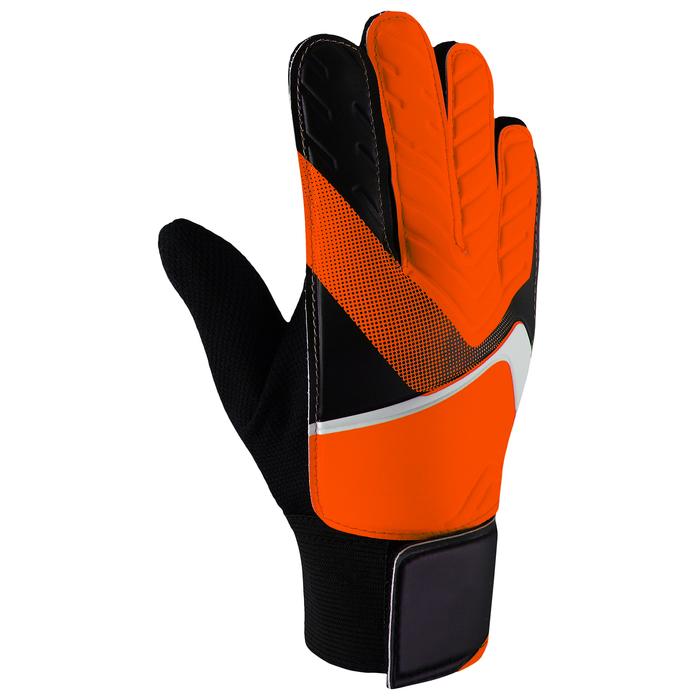 Перчатки вратарские, размер 6, цвет оранжевый