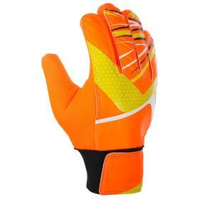 Перчатки вратарские, размер 6, цвет оранжевый Ош