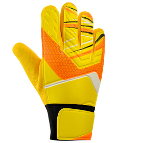 Перчатки вратарские, размер 8, цвет желтый Ош