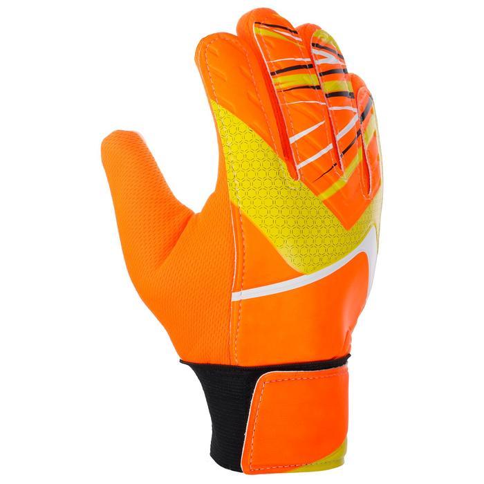Перчатки вратарские, размер 5, цвет оранжевый - фото 798158237