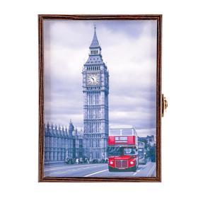 "Ключница ""Лондон"" декобокс"" 14х19 см  Венге - фото 7645754"