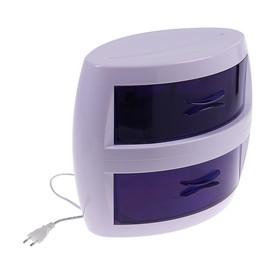 Стерилизатор маникюрного инструмента LuazON LGS-03, ультрафиолетовый, 8 Вт, 2 отсека