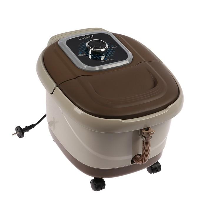 Ванночка массажная для ног Galaxy GL 4900, 450 Вт, 3 режима работы, коричневая