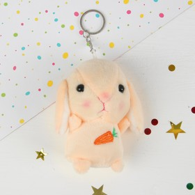 "Soft toy-keychain ""Bunny"" MIX color"
