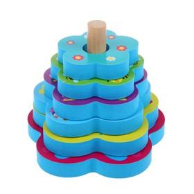 Игрушка - пирамидка для купания «На полянке»