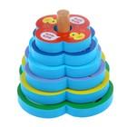 Игрушка - пирамидка для купания «В деревне» - фото 105535869