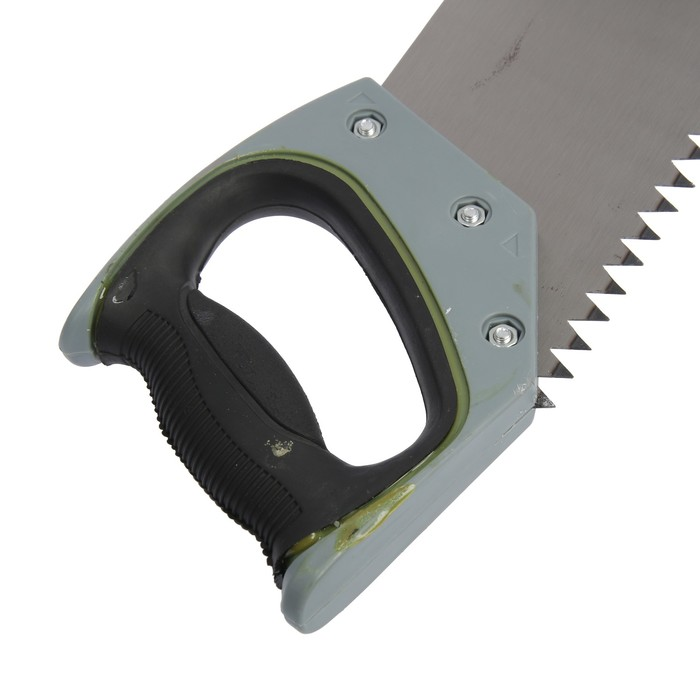 УЦЕНКА Ножовка по дереву TUNDRA premium, 400 мм, 2D заточка, комбинированное TPI 3-5