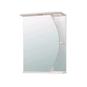 """Зеркало-шкаф """"Луна 500"""" левое без подсветки арт. 10382"""