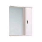 Зеркало-шкаф Венеция 700 правое, без подсветки арт.10252