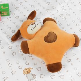 Мягкая игрушка-погремушка «Пёсик»