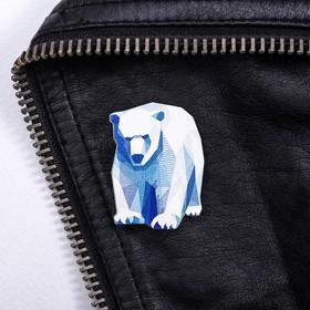 Значок «Мурманск. Медведь»