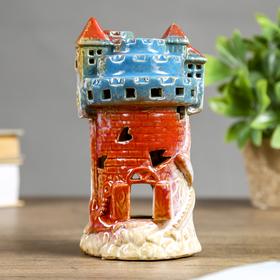 "Подсвечник керамика ""Замок"" 17х9х9,5 см"
