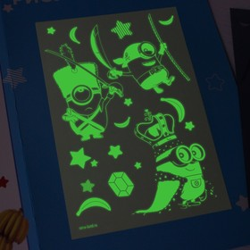 """Набор для рисования светом """"Миньоны на вечеринке"""", Гадкий Я"""