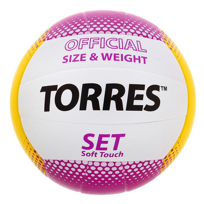 Мяч волейбольный Torres Set, V30045, размер 5