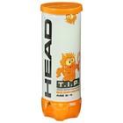 Набор мячей теннисных Head T.I.P Orange, цвет желтый