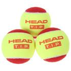 """Набор мячей теннисных """"Head T.I.P"""" Red, цвет желтый"""