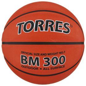 Мяч баскетбольный Torres BM300, B00017, размер 7