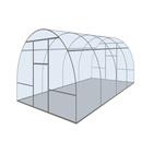 Каркас теплицы «Новая-Цинк», 6 × 3 × 2,1 м, оцинкованная сталь, профиль 20 × 20 мм, без поликарбоната