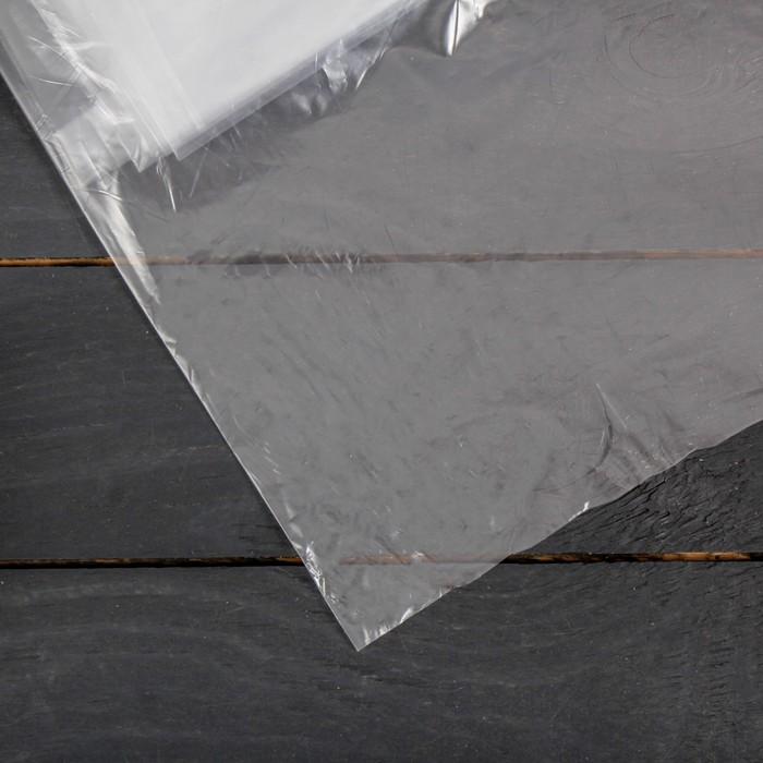 Плёнка полиэтиленовая, толщина 30 мкм, 3 × 5 м, рукав, прозрачная, 1 сорт, ГОСТ 10354-82