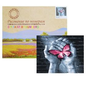 Картина по номерам «Граффити», с подрамником