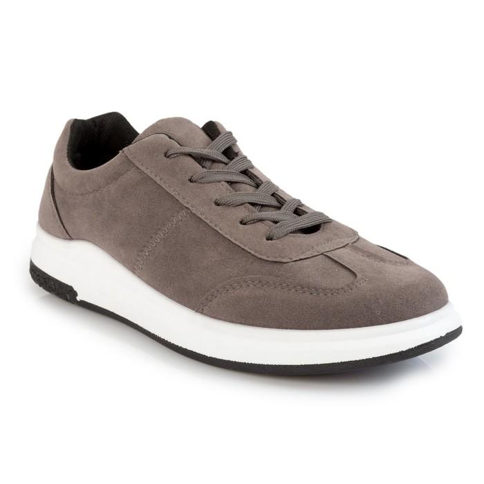 Кроссовки мужские 117, серый, размер 42
