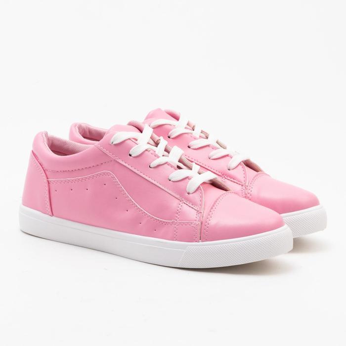 Кеды женские MINAKU, цвет розовый, размер 36