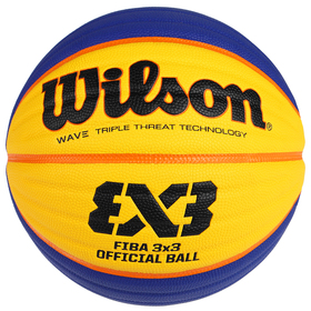 Мяч баскетбольный WILSON FIBA3x3 Official, WTB0533XB, размер 6, PU
