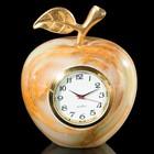 "Часы «Яблоко», 2,5"", 7х6х6 см, оникс"