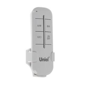 Пульт управления светом Uniel, 1 канал х 1000 Вт, радиус действия 30 м