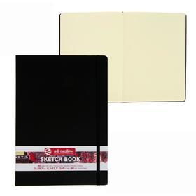 Блокнот для рисунков А4, 140 г/м², Royal Talens, 80 листов, твёрдая обложка, чёрный