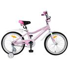 """Велосипед 18"""" Novatrack Novara, 2019, цвет розовый"""