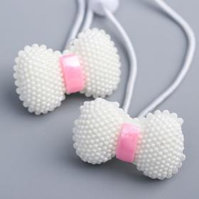 A set of elastic bands for hair, VINKS fairies: Bloom 2 pcs, (plastic).