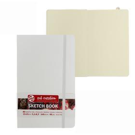 Блокнот для рисунков А5, 140 г/м², Royal Talens, 130 х 210, 80 листов, твёрдая обложка, белый