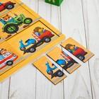 """Логическая игрушка с разрезными картинками """"Транспорт"""" - фото 105593011"""