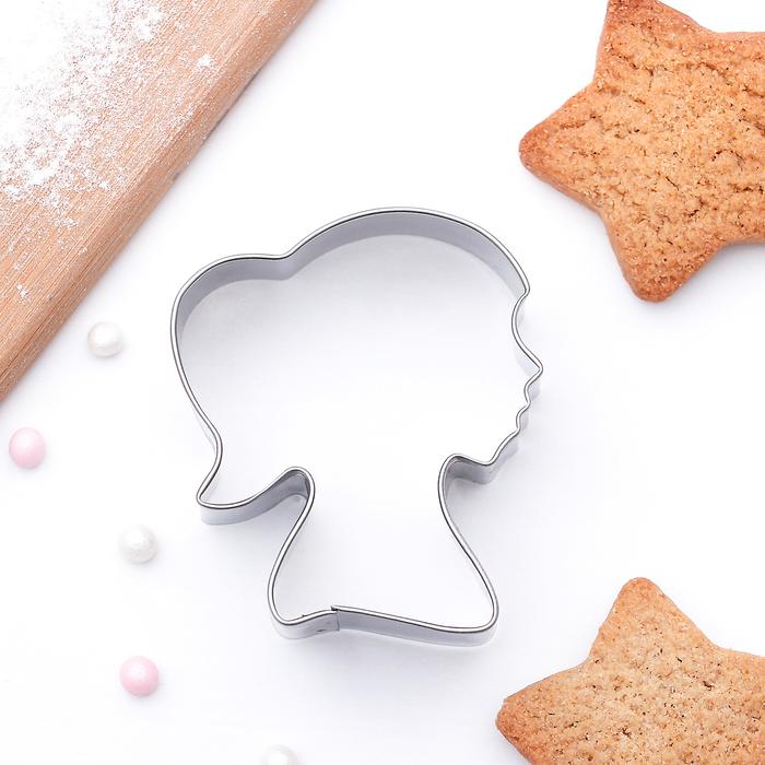 """Форма для вырезания печенья 5,5x4,5x2 см """"Принцесса"""" - фото 308034561"""