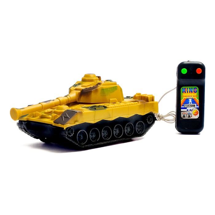 Танк «Тигр», на дистанционном управлении, цвета МИКС, в пакете