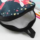 Мягкий рюкзак «Единорог», цвет чёрный - фото 1050387