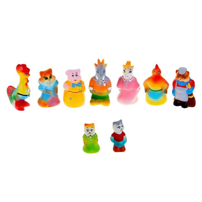 Набор резиновых игрушек «Кошкин дом»