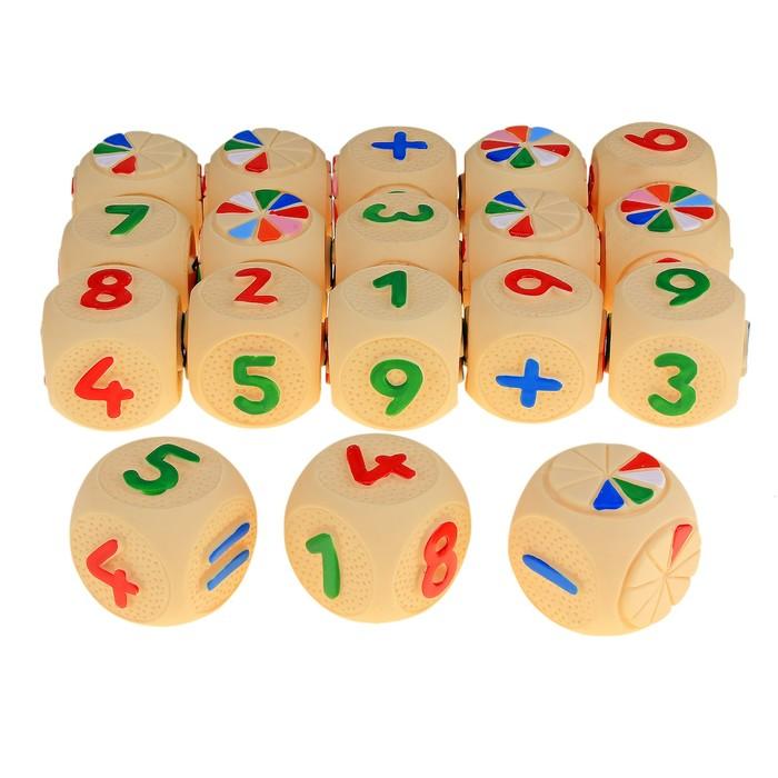 """Набор резиновых игрушек """"Веселая арифметика"""""""