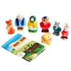 Набор резиновых игрушек «Колобок», 7 шт. - фото 105536788