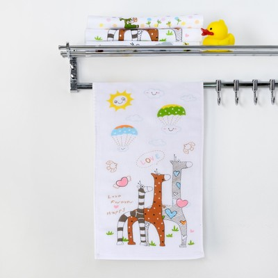 "Towel double-sided Baby I ""Giraffe"" 25 x 50 cm, 100% cotton 3539410"