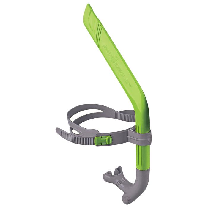 Дыхательный тренажер PRO SNORKEL junior, Green/Grey M0777 02 0 10W